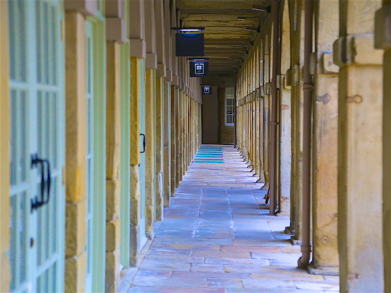Piece Hall colonnades