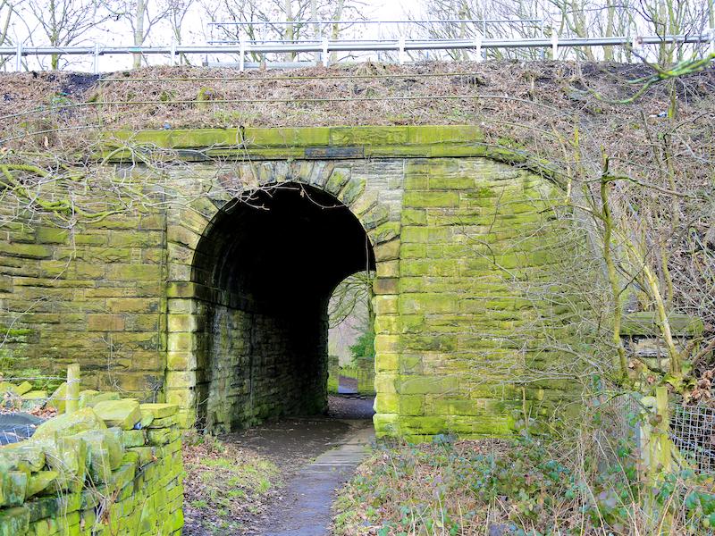 Arch under railway