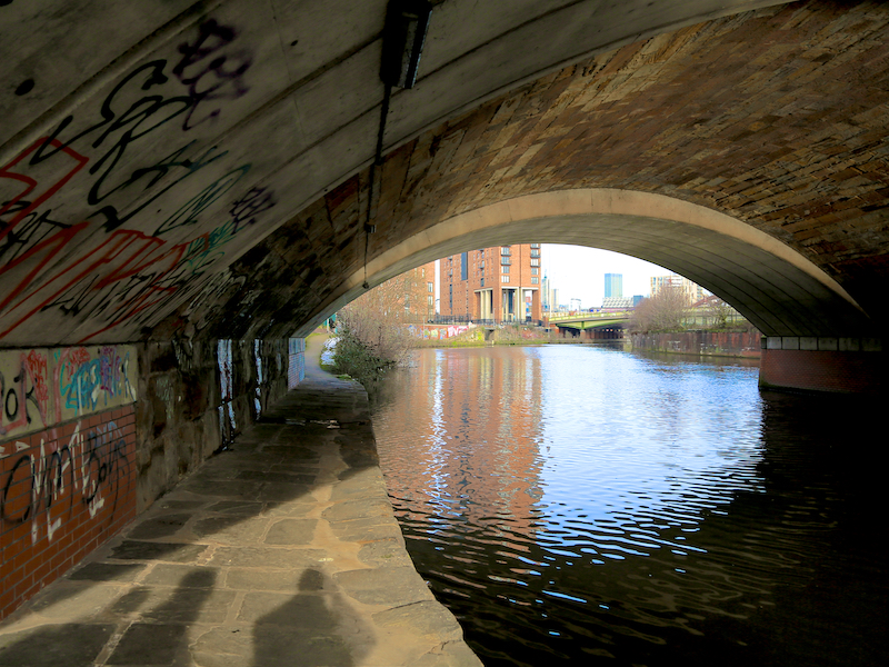 Under Regent Road bridge