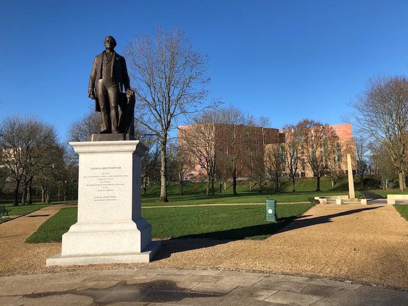 Joseph Brotherton statue