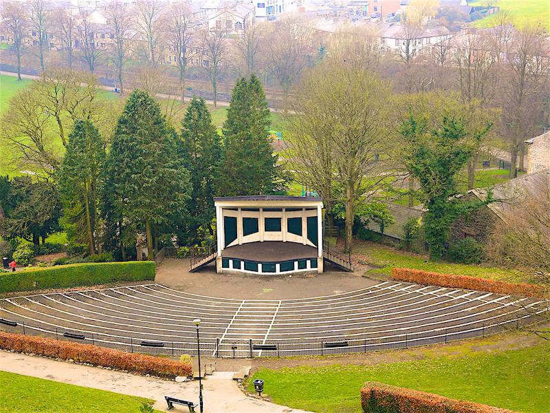 Castle Park bandstand